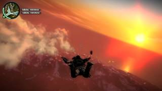 Just Cause 2 6000m BASEJUMP [german, 1080p]