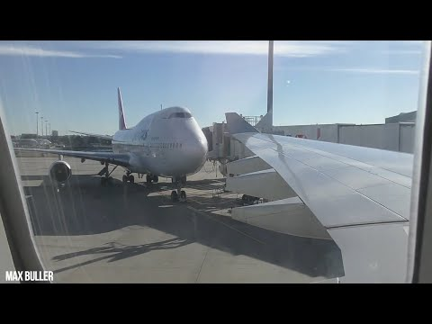 Qantas 747-400 I ECONOMY I TRIP REPORT I QF581 SYDNEY TO PERTH