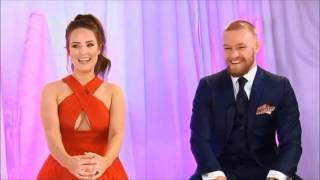 Conor McGregor and his Girlfriend Dee Devlin at VIP Style Awar…