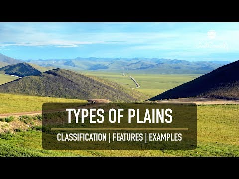 Types of Plains || Features & Examples