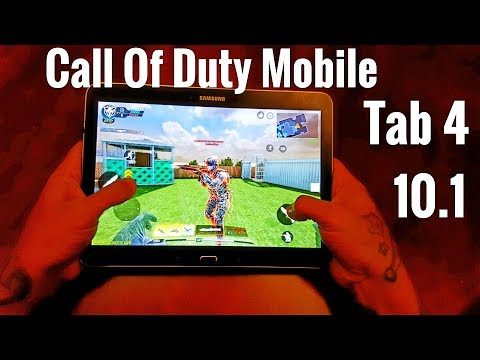 Call Of Duty Mobile GamePlay ON OLD Samsung Galaxy Tab 4 10.1