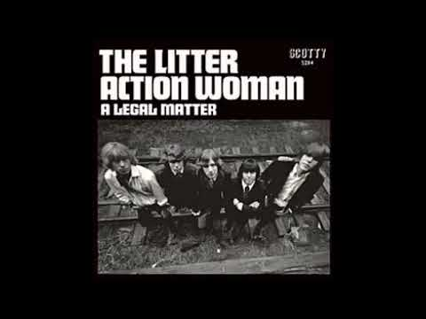 The Litter-  Action Woman-  Stereo  Nuggets Classic garage rock
