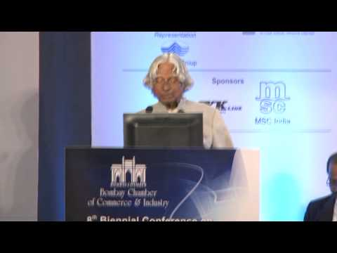 Dr APJ Abdul Kalam, Former President of India, address conference on ports and shipping - Part 2