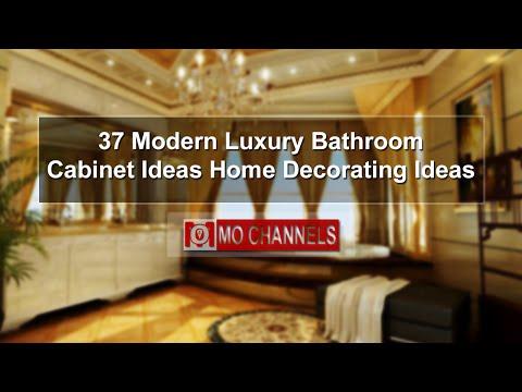 37 Modern Luxury Bathroom Cabinet Ideas Home Decorating Ideas