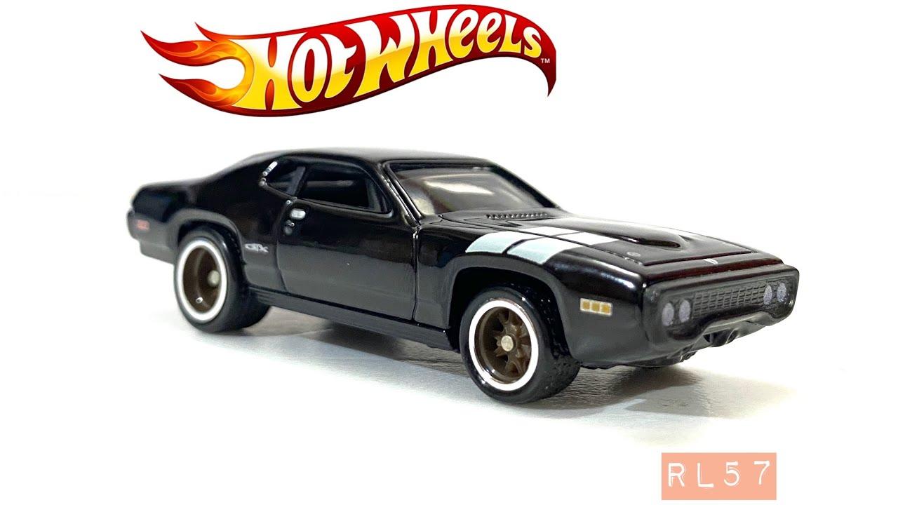 Full Force HOT WHEELS Fast /& Furious /'71 PLYMOUTH GTX