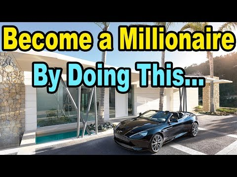 How to ACTUALLY become a Millionaire (even without a high income)