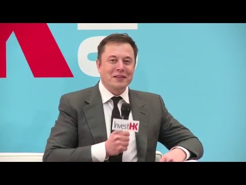 StartmeupHK Venture Forum - Elon Musk on Entrepreneurship an