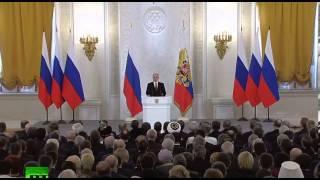 Выступление Путина о Вхождении Крыма в состав России