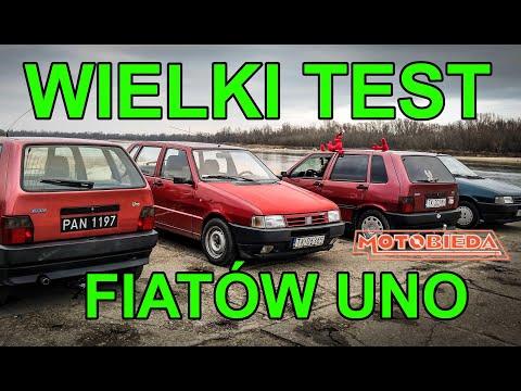 Wielki Test Fiatów Uno - MotoBieda