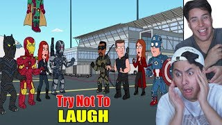 Try Not To Laugh! Family Guy Moments!