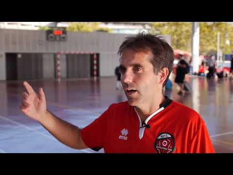 Bolton Futsal Club Barcelona Tour 2017 Christian Interview with footage from first days training