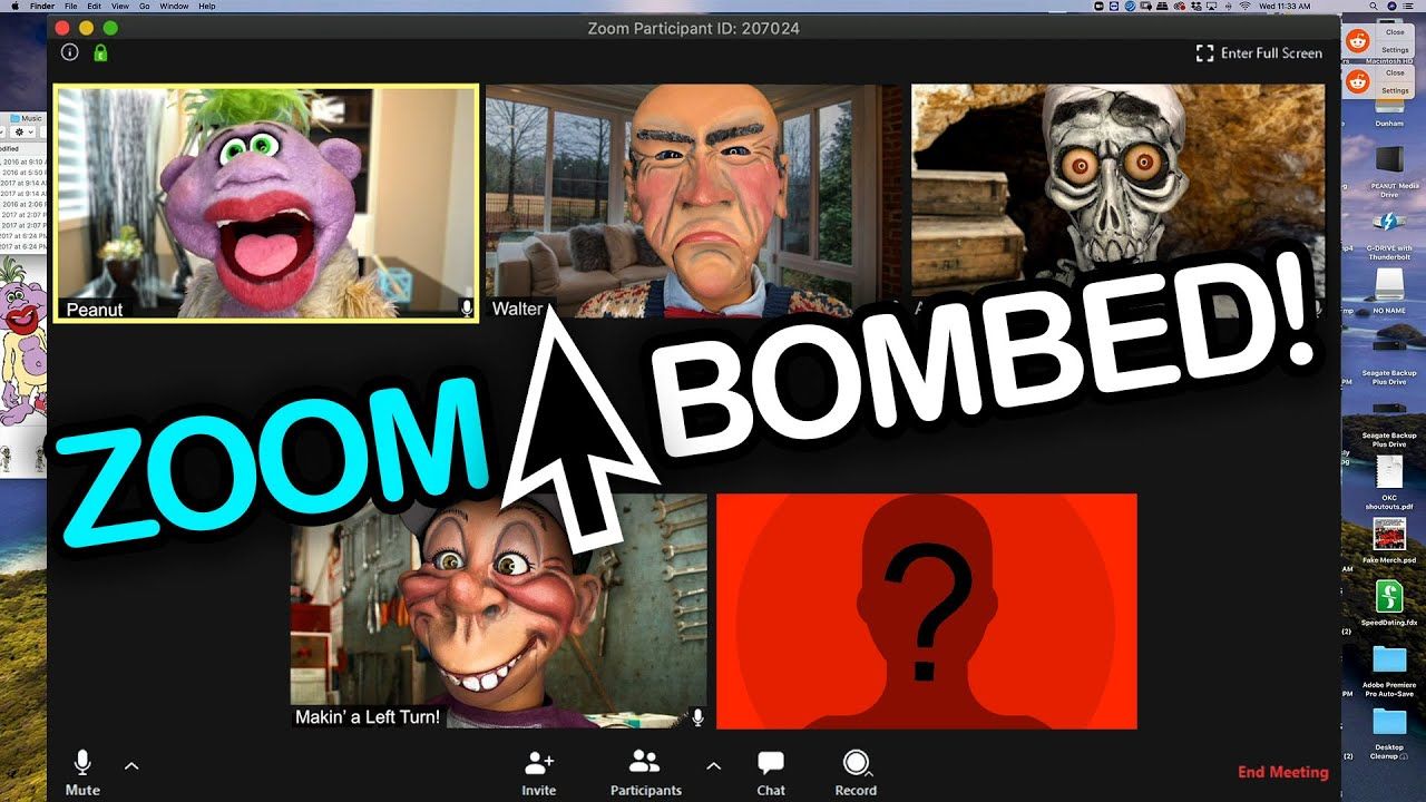 ZOOM-BOMBED! The Guys Get Hacked! | JEFF DUNHAM