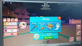 Roblox mining simulator noob vs pro