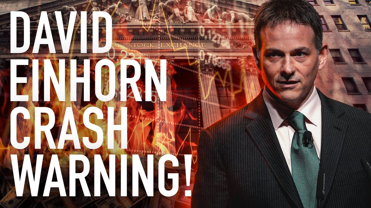David Einhorn Warns Of A Stock Market Crash: The Market Is Fractured And Will Break Completely