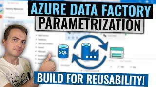 Azure Data Factory Parametrization Tutorial