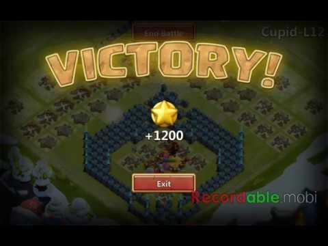Castle Clash Heroes Trial Best Base L 12 Cupid