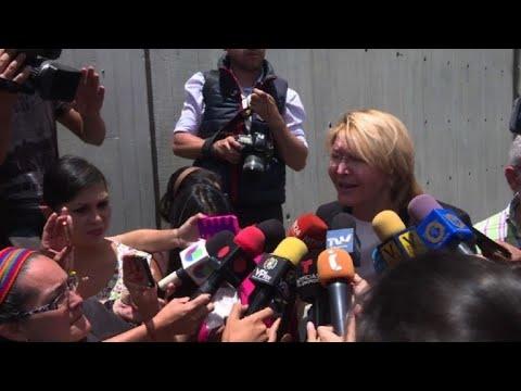 Exfiscal Luisa Ortega está en Colombia tras huir de Venezuela