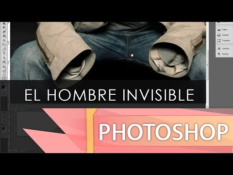 Fotomontaje Hombre Invisible - Adobe Photoshop