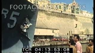 Cold War, Usa Navy: Uss Liberty Into Malta Drydock After Attack By Israel 220438-02