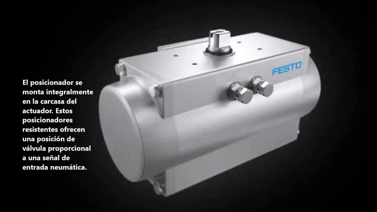 Explique los actuadores neumáticos rotativos