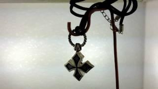 Maltese Cross Silver Pendant