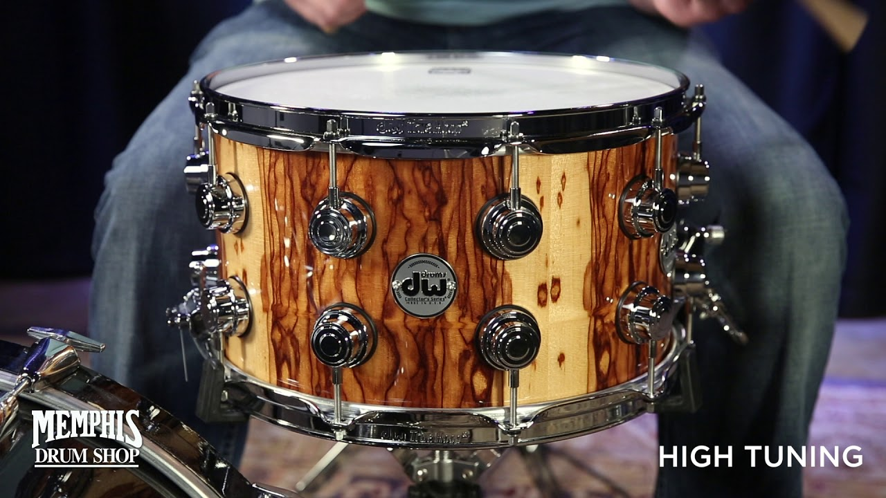Dw Shop Dw 14x8 Collector S Series Exotic African Chechen Snare Drum