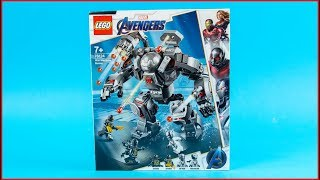 LEGO Avengers 76124 War Machine Buster Construction Toy   UNBOXING