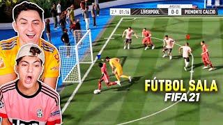 XBUYER vs MINIBUYER *Partido FÚTBOL SALA ¡FIFA 21!*