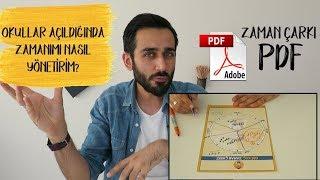 #PK8 12. Sınıflar İçin Zaman Yönetim Taktikleri | Zaman Çarkı PDF İndir! #okuladönüş