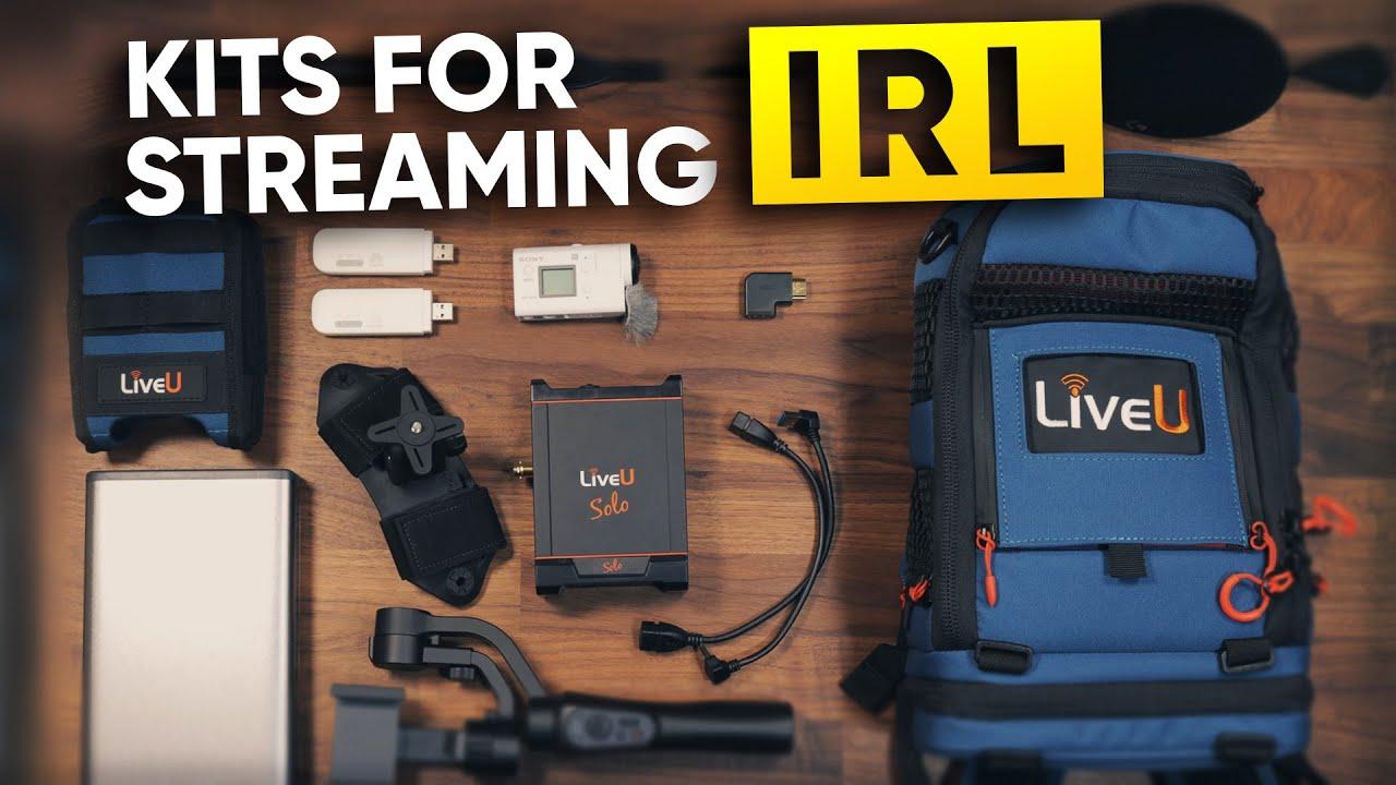 Streaming Backpack