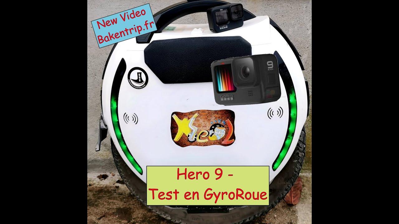 GoPro Hero 9 en Gyroroue - Nancy