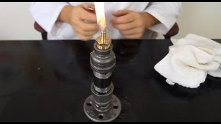 How to Make an Oil Lamp The Russian Way!