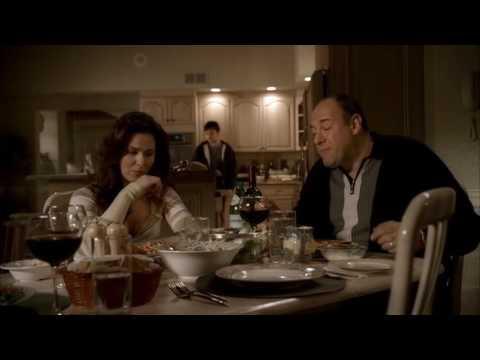 The Sopranos - AJ Ruins Dinner