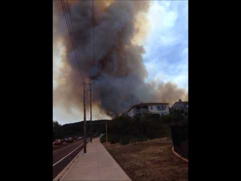 Cocos Fire San Marcos California May 2014