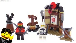 LEGO Ninjago Movie Spinjitzu Training review! 70606