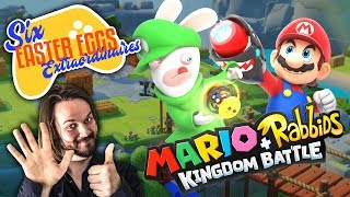 6 EASTER EGGS EXTRAORDINAIRES SUR MARIO + THE LAPINS CRETINS