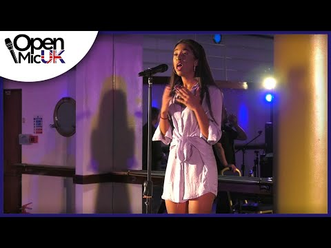DIAMONDS – RIHANNA performed by HARRIET ALEXANDER at Open Mic UK music competition