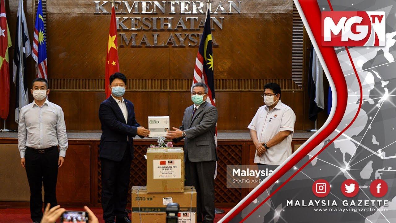TERKINI : Kerajaan China dan Syarikat Swasta Beri Sumbangan kepada KKM