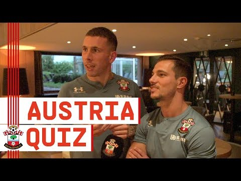 AUSTRIA QUIZ | We put the Southampton players' knowledge to the test