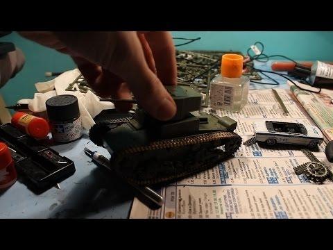 видео: Сборка модели танка Т-26 1/35 zvezda