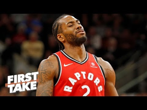 Kawhi Leonard deserved to be booed by Spurs fans - Stephen A. | First Take