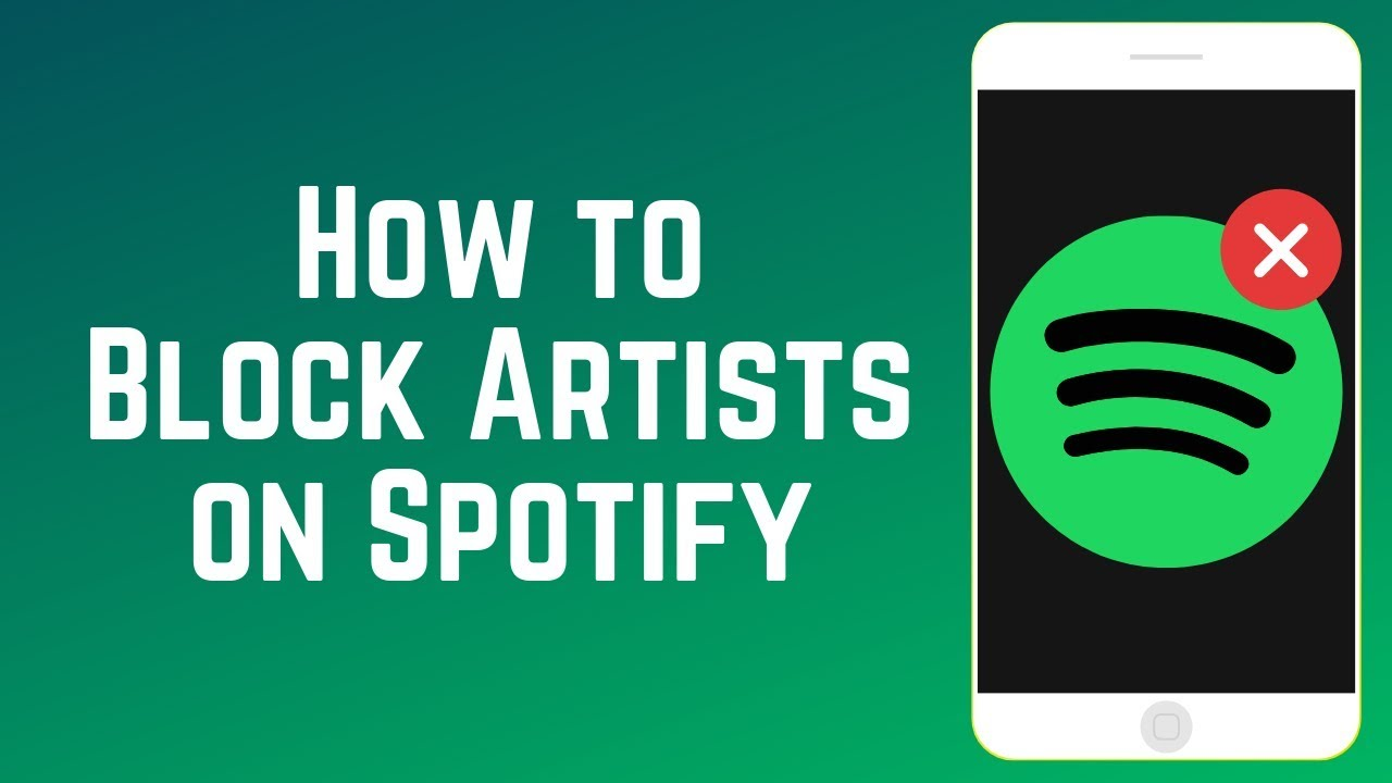 How to Block an Artist You Don't Like on Spotify - New Feature!