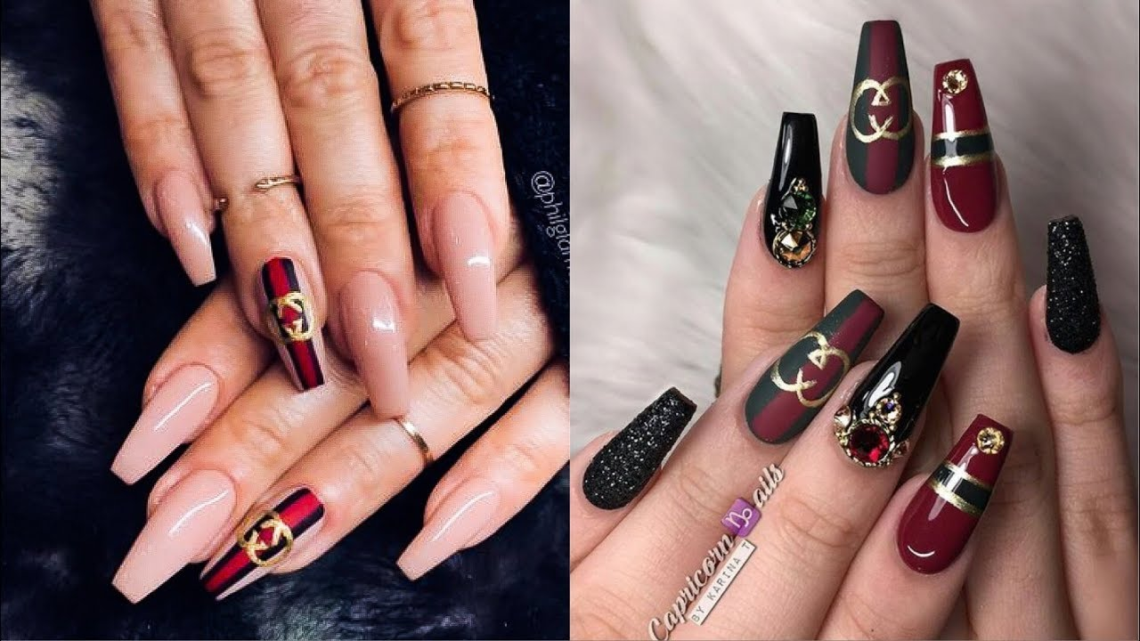 Best Instagram Nails Tutorial Nails 2019 Youtube