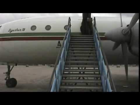 THE SIGHT & THE SOUND 7/14 : Balkan Bulgarian IL-18 LZ-BEU documentary from Tallinn to Sofia