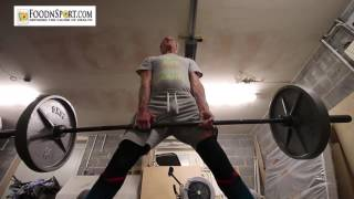Double Your Squat, Double Your Deadlift, As a 60 Year Old Raw Vegan!