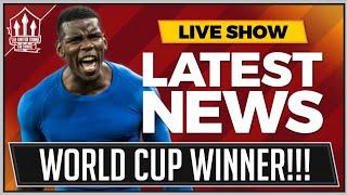 Paul Pogba World Cup Winner! Man Utd News