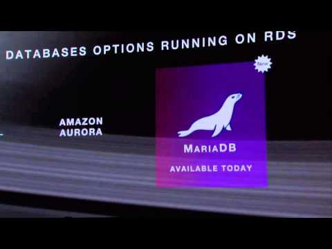 Introducing Amazon RDS for MariaDB