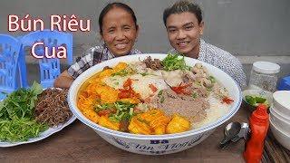 Bà Tân Vlog - Làm Bát Bún Riêu Cua Đồng Siêu To Khổng Lồ