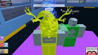 ROBLOX (Lab Experiment) testing Power up Extralife