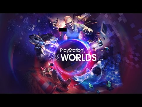 Virtual Reality Worlds | Gameplay | Trailer | E3 Expo 2016  | PlayStation | Live | Booth |